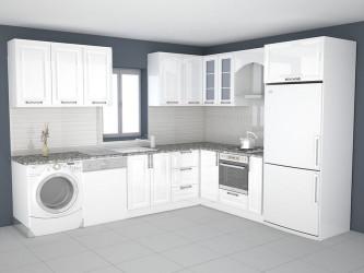 3D Kitchen Design  3D printable model kitchen design