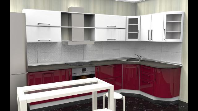 3D Kitchen Design  PRODBOARD line kitchen planner 3D kitchen design