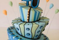 40th Birthday Cake Ideas Awesome 40th Birthday Cake Decorating Ideas