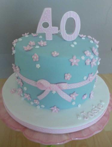 40Th Birthday Cake Ideas  The Papoose Mamoose 40th Birthday Cake Gluten Free