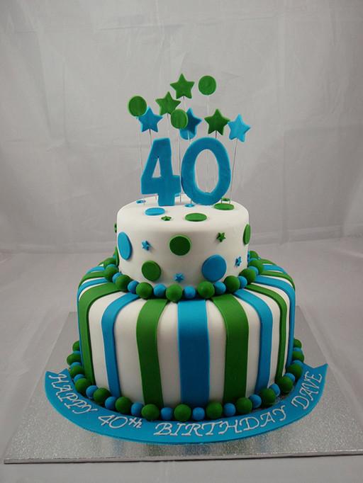 40Th Birthday Cake Ideas  Cake man on Pinterest