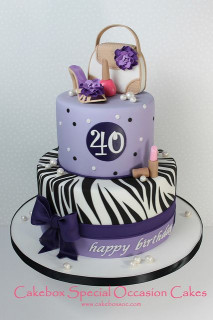 40Th Birthday Cake Ideas  40th Birthday Cake Cecily s party