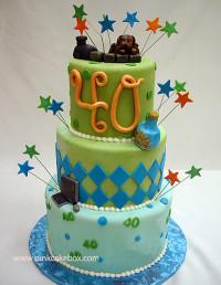 40Th Birthday Cake Ideas  40th Birthday Cakes