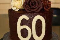 60th Birthday Cake Unique Chocolate Roses Birthday Cake