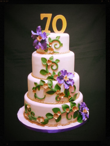 70Th Birthday Cake  118 best images about Cakes 70th Birthday on Pinterest