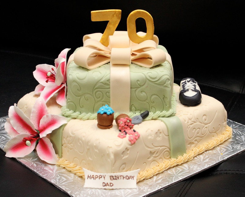 70Th Birthday Cake  Love Dem Goo s 70th Birthday Cake