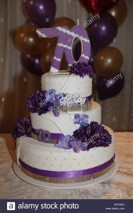 70Th Birthday Cake  70th Birthday Cake Stock s & 70th Birthday Cake Stock