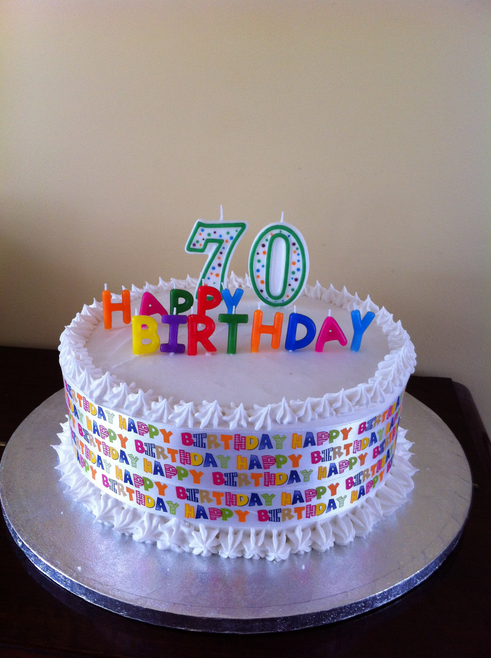 70Th Birthday Cake  70th Birthday Cake