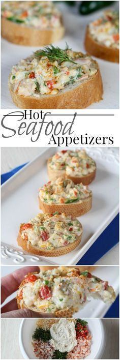 seafood appetizers appetizer recipes recipe dinner shrimp parties crab canapes valentinascorner served brunch finger cheese ingredients menu pinwheels easy toasted