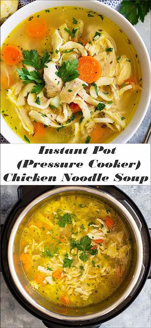 instant pot pressure cooker chicken noodle soup  home