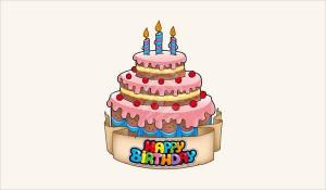 Animated Birthday Cake  12 Birthday Cake Clip Arts Free Vector EPS JPG PNG