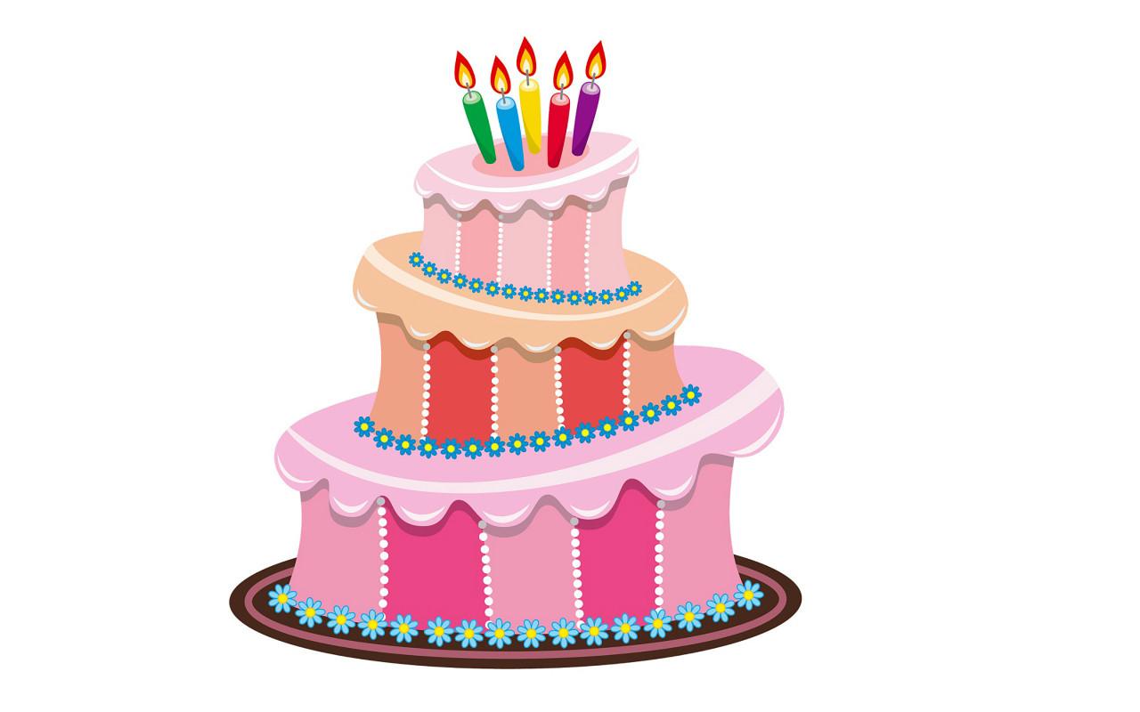 Animated Birthday Cake  Cake Animation ClipArt Best