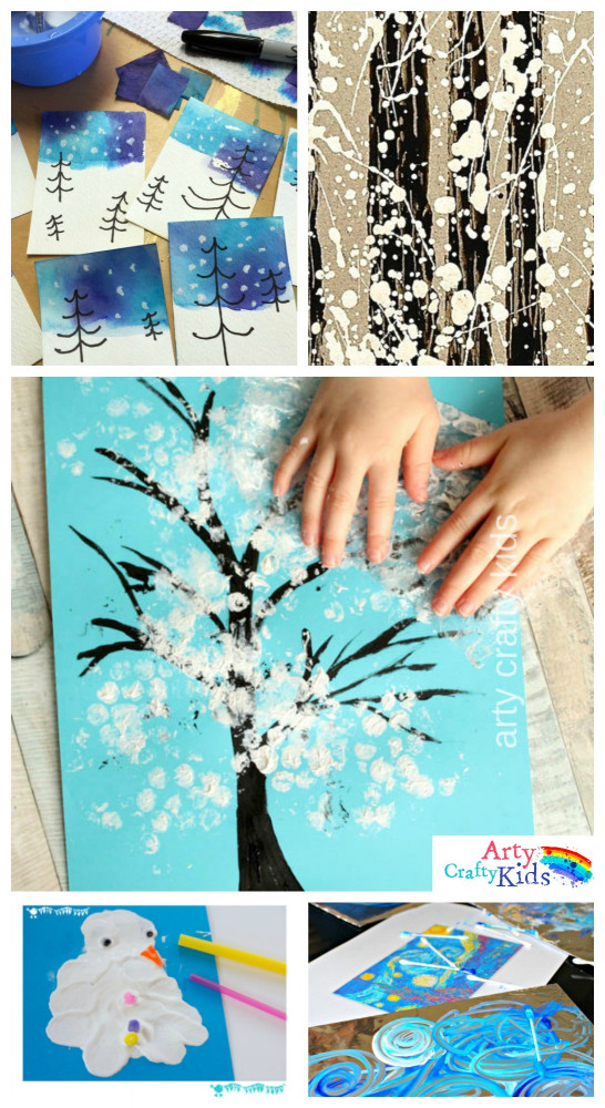 Art Project For Kids  14 Wonderful Winter Art Projects for Kids