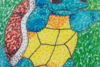 Artwork for Kids Beautiful Pointillism Project