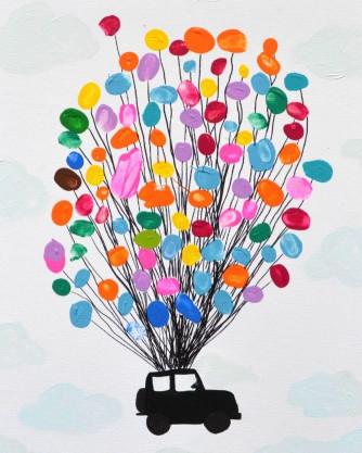 Artwork For Kids  Thumbprint Art for Kids