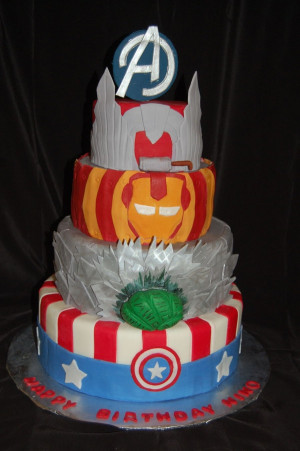 Avengers Birthday Cake  10 Awesome Marvel Avengers Cakes Pretty My Party