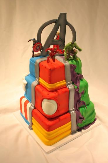 Avengers Birthday Cake  avengers cake rehearsal cake Pinterest