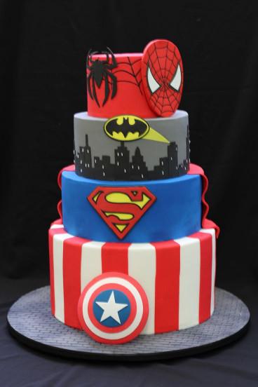 Avengers Birthday Cake  Best 25 Avenger cake ideas on Pinterest