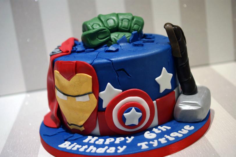 Avengers Birthday Cake  Birthday Cakes Archives Bakealous