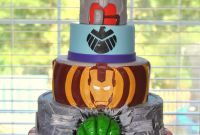Avengers Birthday Cake Fresh Hope S Sweet Cakes Avengers Cake and Party