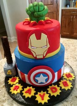 Avengers Birthday Cake  31 Most Beautiful Birthday Cake for Inspiration