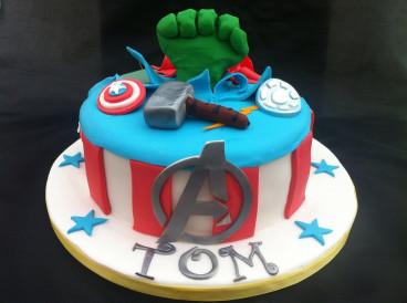 Avengers Birthday Cake  Avenger cake Avenger Birthday Party Ideas