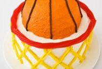Basketball Birthday Cake Beautiful Basketball with Hoop Birthday Cake Design