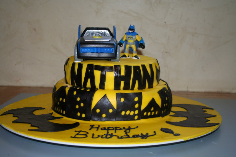 Batman Birthday Cake  Kakie s Cakes Batman Birthday Cake