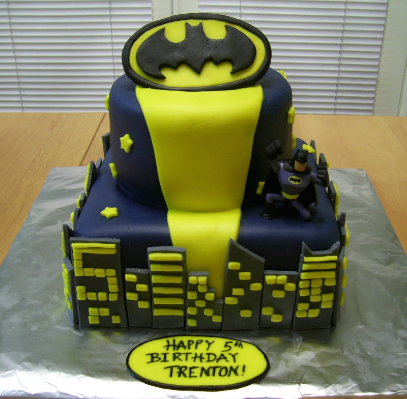 Batman Birthday Cake  Bellissimo Specialty Cakes Batman Birthday Cake 1 10