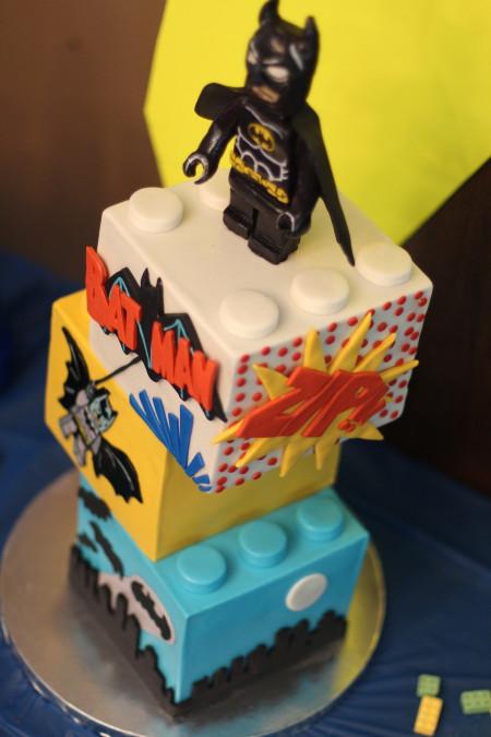 Batman Birthday Cake  Lego Batman Cake CakeCentral