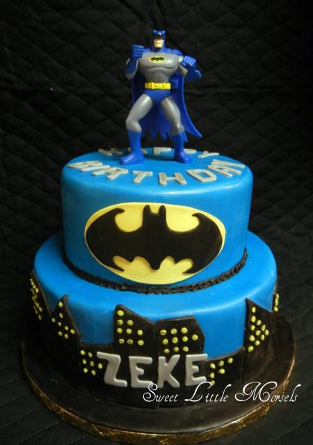 Batman Birthday Cake  Batman Cake CakeCentral