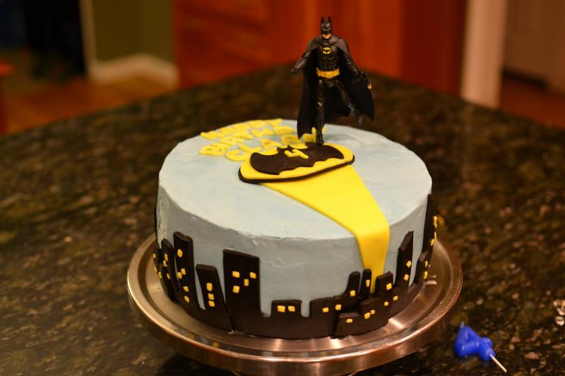 Batman Birthday Cake  Batman Birthday Cake and DIY No Sew Super Hero Capes