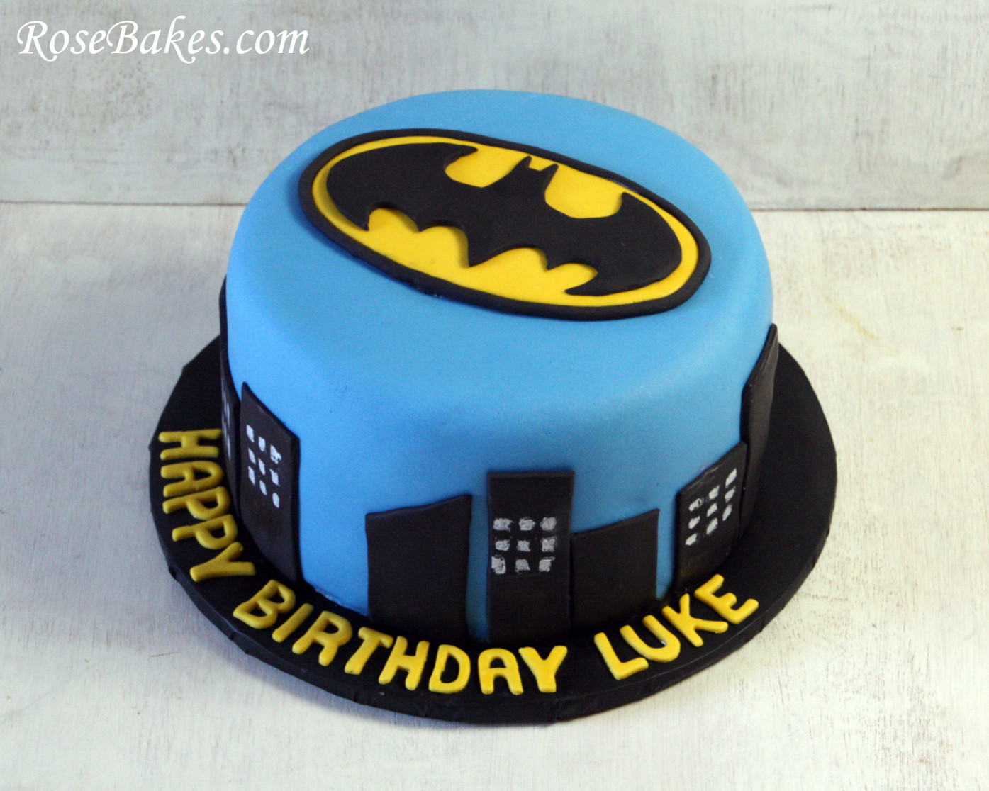 Batman Birthday Cake  Batman Cake
