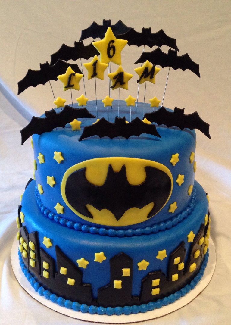 Batman Birthday Cake  Batman Cake Sweet Treats by Cherie