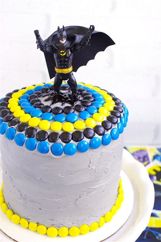 Batman Birthday Cake  Batman Cake Deliciously Declassified