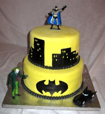 Batman Birthday Cake  Special Day Cakes Top Batman Birthday Cakes