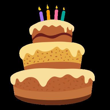 Birthday Cake Cartoon  File Cartoon Happy Birthday Cakeg Wikimedia mons