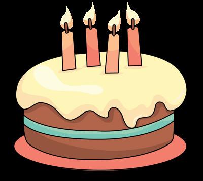 Birthday Cake Cartoon  Free Cake Clip Art Clipartix