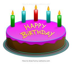 Birthday Cake Cartoon Luxury How to Draw A Cartoon Birthday Cake