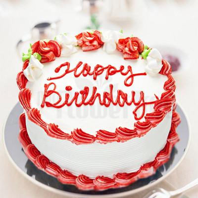 Birthday Cake Delivery  Grannys Strawberry Cake MyFlowerTree
