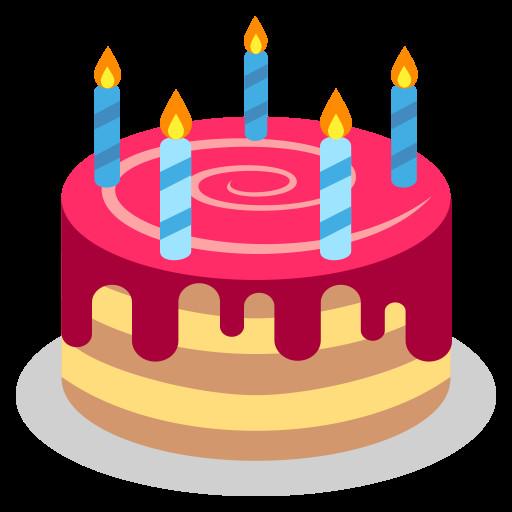 Birthday Cake Emoji  File Emojione 1F382g Wikimedia mons