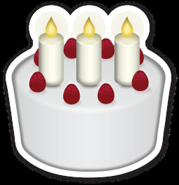Birthday Cake Emoji  I Could Stand for a Sherrod Belton Work Out