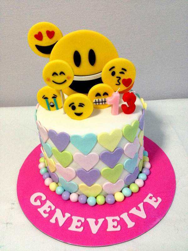 Birthday Cake Emoji  Oven Creations
