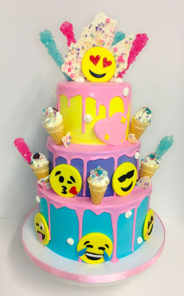 Birthday Cake Emoji  Best 20 Emoji cake ideas on Pinterest