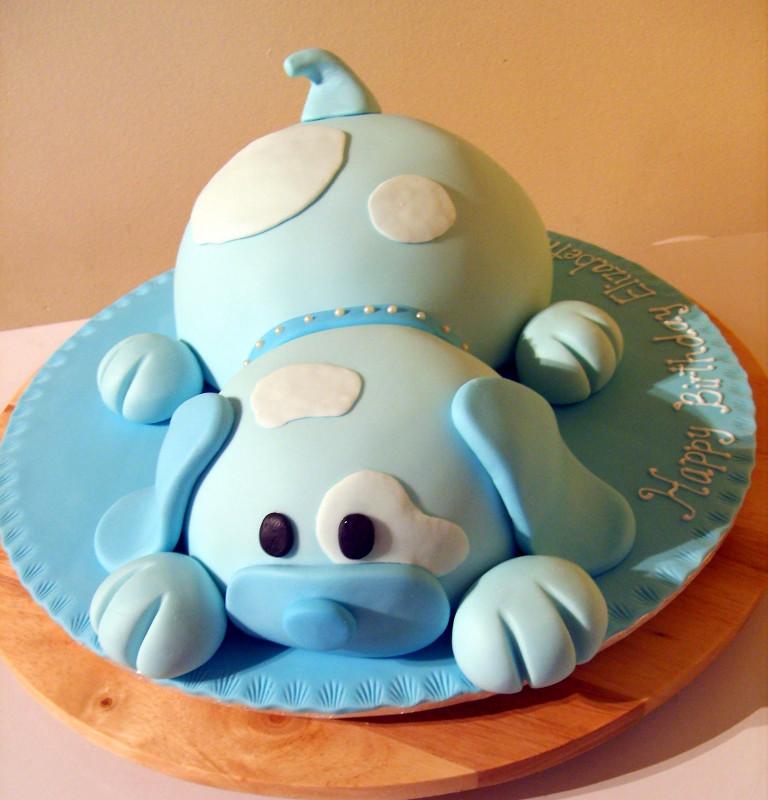 Birthday Cake For Dogs  Caketopia Puppy Dog Birthday cake for Elizabeth