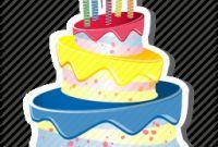 Birthday Cake Icon Lovely Birthdaycake Cake Candles Celebration Party Three