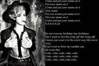 Birthday Cake Lyrics New Rihanna Birthday Cake Lyrics