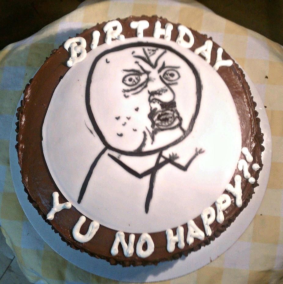 Birthday Cake Meme  cakes for men