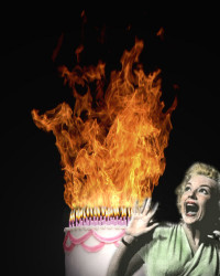 Birthday Cake On Fire  Colorado Peak Politics