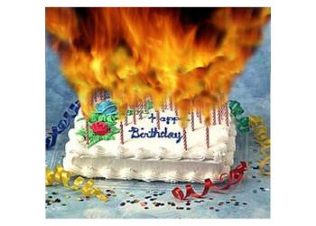 Birthday Cake On Fire  Pinterest • The world's catalog of ideas